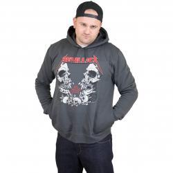 Amplified Hoody Metallica Birth School dunkelgrau