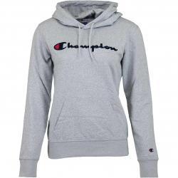 Champion Hoody Logo grau