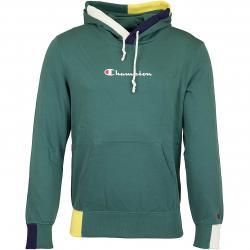 Champion Hoody Logo grün