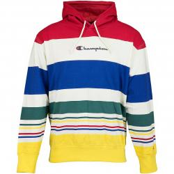 Champion Hoody Striped Logo mehrfarbig