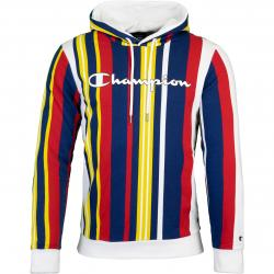Champion Allover Stripes Hoody multi