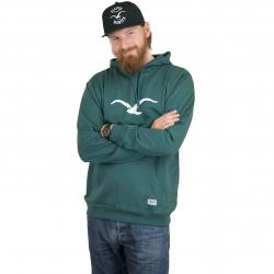 Cleptomanicx Hoody Mowe bottle green