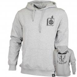 The Dudes Hoody Too Short grau