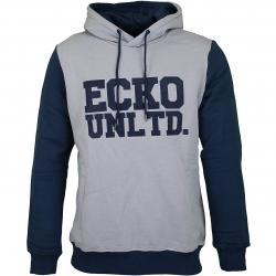 Ecko Unltd Hoody Central Valley grau