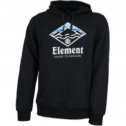 Element Hoody Layer schwarz
