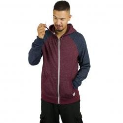 Element Zip-Hoody Meridian napa rot