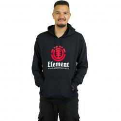 Element Hoody Vertical flint schwarz/rot