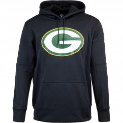 Nike NFL Green Bay Packers Prime Logo Therma Hoody schwarz