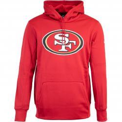 Nike NFL San Francisco 49ers Prime Logo Therma Hoody rot