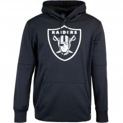 Nike NFL Las Vegas Raiders Prime Logo Therma Hoody schwarz