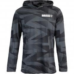 Nike NFL Las Vegas Raiders Team Sideline Lightweight Hoody schwarz
