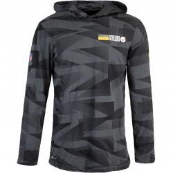 Nike NFL Pittsburgh Steelers Team Sideline Lightweight Hoody schwarz