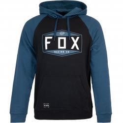 Fox Emblem Herren Hoody schwarz