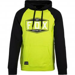 Fox Emblem Herren Hoody gelb