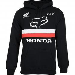 Fox Hoody Honda schwarz