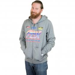 Fox Head Zip-Hoody Jetskee grau