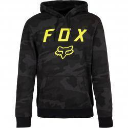 Fox Legacy Moth Camo Herren Hoody schwarz