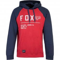 Hoody Fox Non Stop Raglan rot