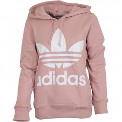 Adidas Originals Damen Hoody Trefoil pink