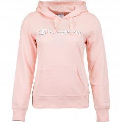 Champion Damen Hoody Logo rosa