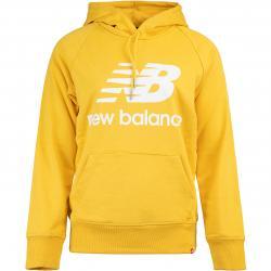 New Balance Damen Hoody Essentials gelb