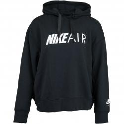 Nike Damen Hoody Air schwarz/weiß