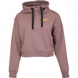 Nike Damen Hoody Air Fleece HZ mauve/rose