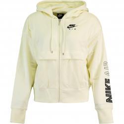 Nike Air Full Zip Damen Hoody gelb