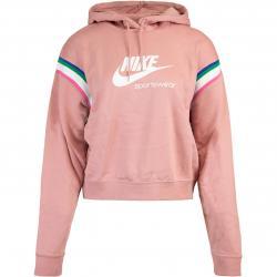 Nike Damen Hoody Heritage rosa