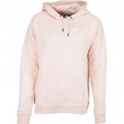 Nike Damen Hoody Rally pink/weiß