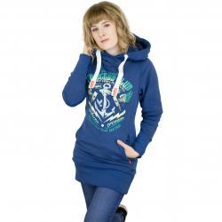 Yakuza Premium Damen Hoody 2443 dunkelblau