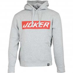 Joker Brand Hoody LV Clown grau