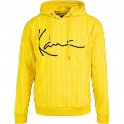 Karl Kani Signature Logo Pinstripe Hoody gelb