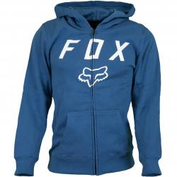 Fox Head Kinder Zip-Hoody Legacy Moth dusty blau