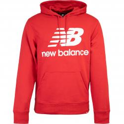 New Balance Hoody Essentials Stack Logo rot