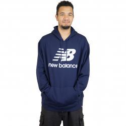 New Balance Hoody Essentials Stacked dunkelblau