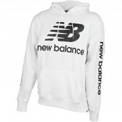 New Balance Hoody Essentials weiß
