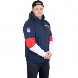 New Era Hoody Colour Block New England Patriots dunkelblau