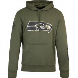 Hoody New Era NFL Digi Camo Seattle Seahawks oliv
