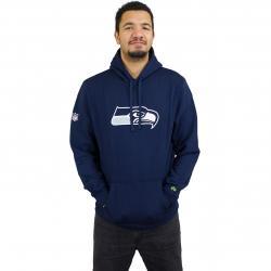 New Era Hoody Team Logo Seattle Seahawks dunkelblau