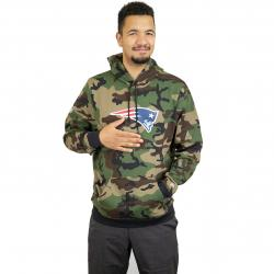 New Era Hoody Woodland New England Patriots camouflage