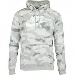 Nike Hoody Club Camo PO grau