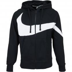 Nike Zip-Hoody HBR BB ST schwarz/weiß