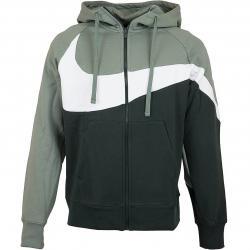 Nike Zip-Hoody HBR BB ST grün