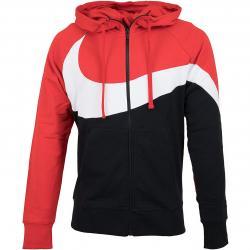 Nike Zip-Hoody HBR STMT French Terry rot/schwarz