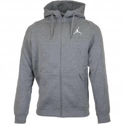 Nike Zip-Hoody Jordan Jumpman grau/weiß