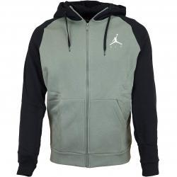 Nike Zip-Hoody Jordan Jumpman grün/schwarz