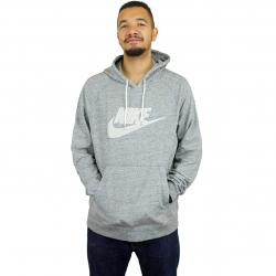 Nike Hoody Legacy PO French Terry grau