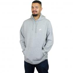 Nike Hoody NSW PO Fleece Club dunkelgrau/weiß