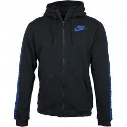 Nike Zip-Hoody Reg GFX schwarz/royal